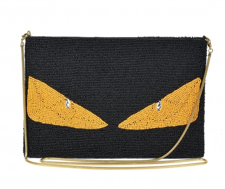 Envelope bag Black & Yellow