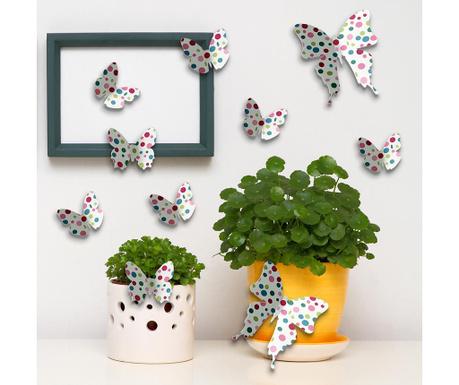 Комплект 10 стикера Color Butterflies