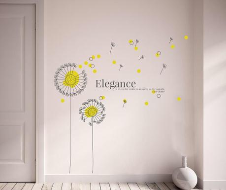 Naklejka Yellow Dandelion