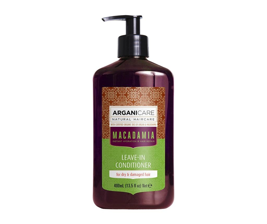 Balsam fara clatire pentru par uscat si deteriorat Macadamia 400 ml