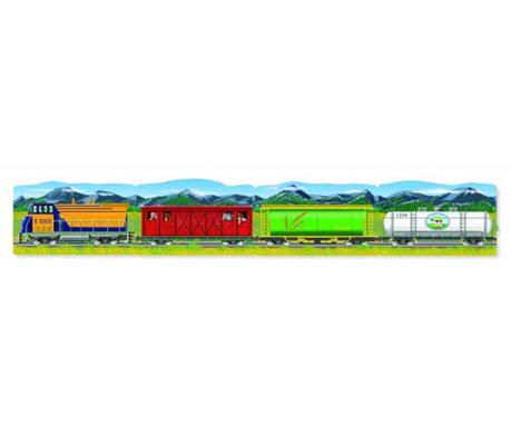 Train 96 darabos Padló puzzle