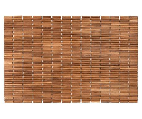 Covoras de baie din lemn Cher Natural 45x70 cm