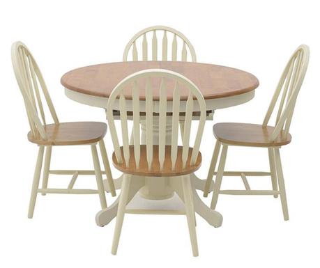 Set masa si 4 scaune Sunshine