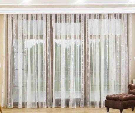 Záclona Hannah Lilac 200x260 cm