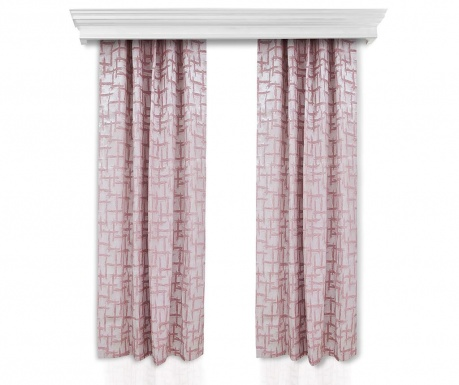 Set of 2 drapes Else Pink 150x260 cm