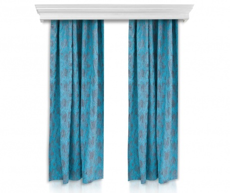 Set of 2 drapes Josefa 150x260 cm
