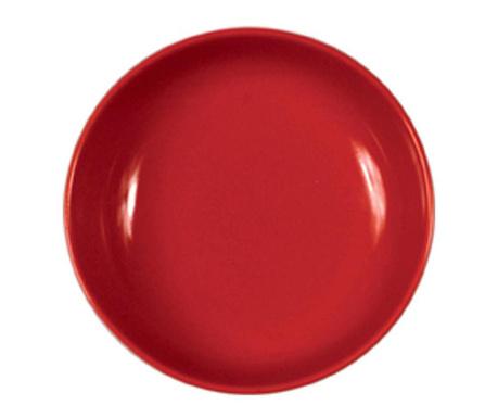 Hluboký talíř Flowers Red