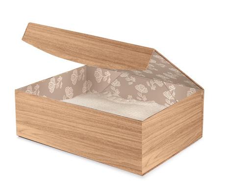 Κουτί με καπάκι για αποθήκευση Brown Style