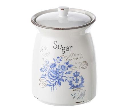 Δοχείο με καπάκι για ζάχαρη Blue Queen