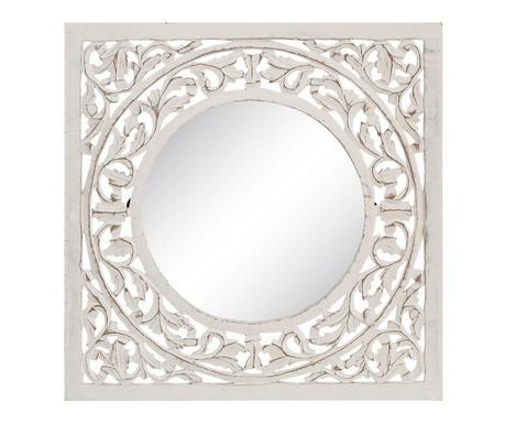 Zrcadlo Branson Worn White