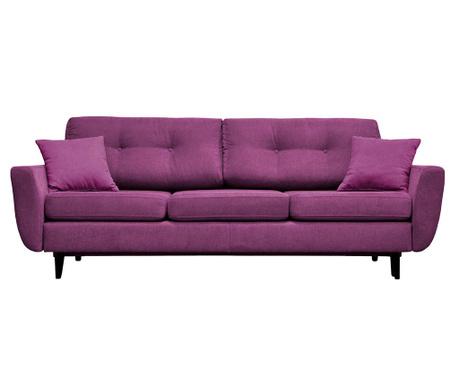 Canapea extensibila 3 locuri Jasmin  Purple
