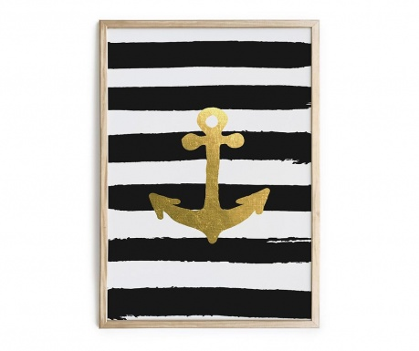 Anchor Stripes Kép 40x60 cm