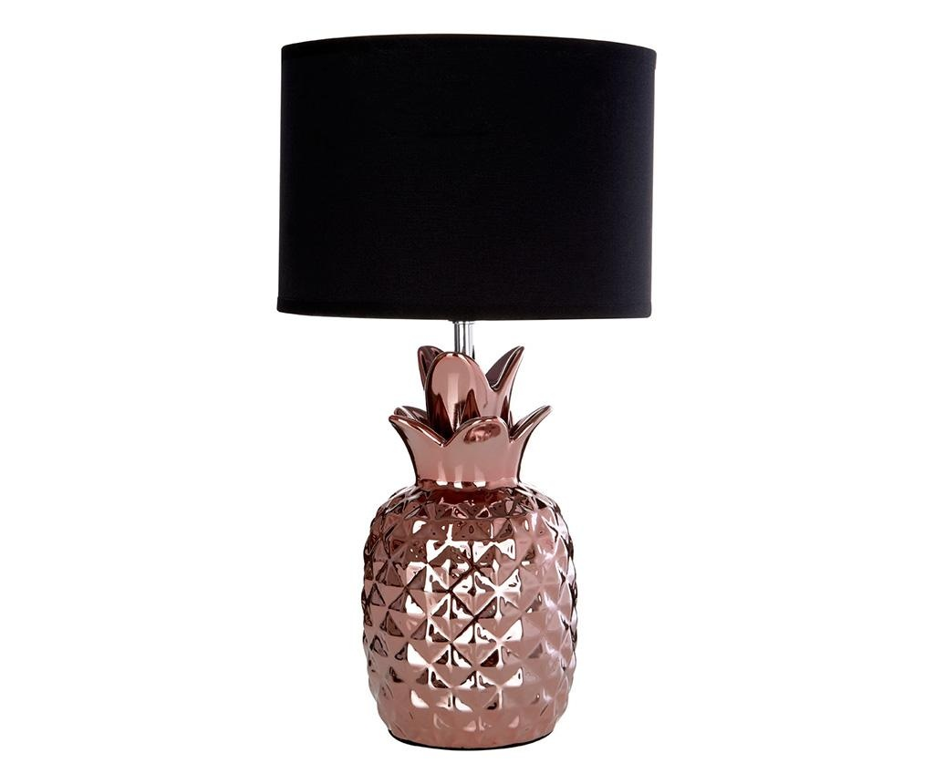 Nočna svetilka Pineapple Copper Black