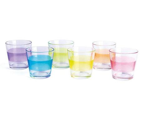 Zestaw 6 szklanek Valencia 290 ml