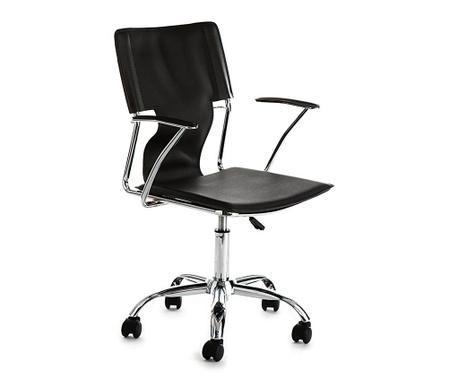 Kancelárska stolička Lynx Black