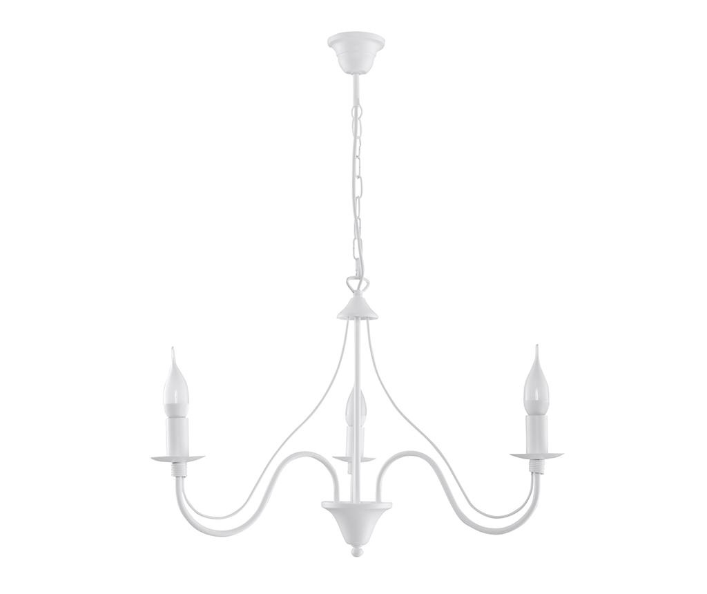 Candelabru Fiorano Three White