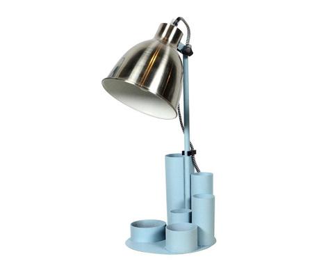 Lampa de birou cu suport pentru pixuri Study Blue