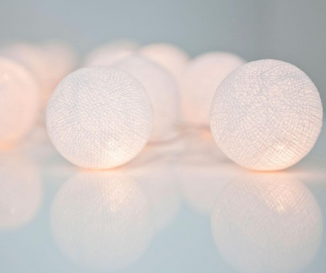 Ghirlanda luminoasa Pure White