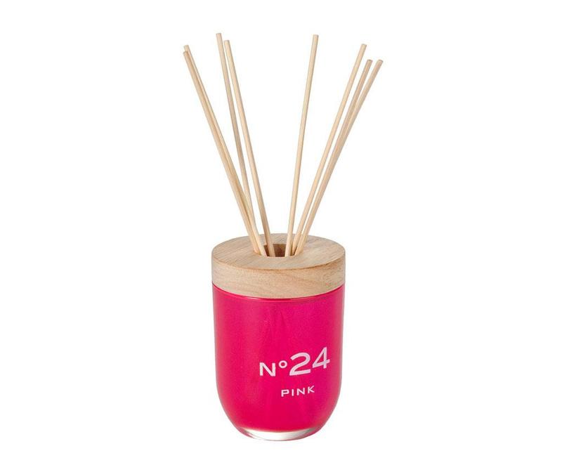 Difuzor cu uleiuri esentiale si betisoare Candy Pink 50 ml