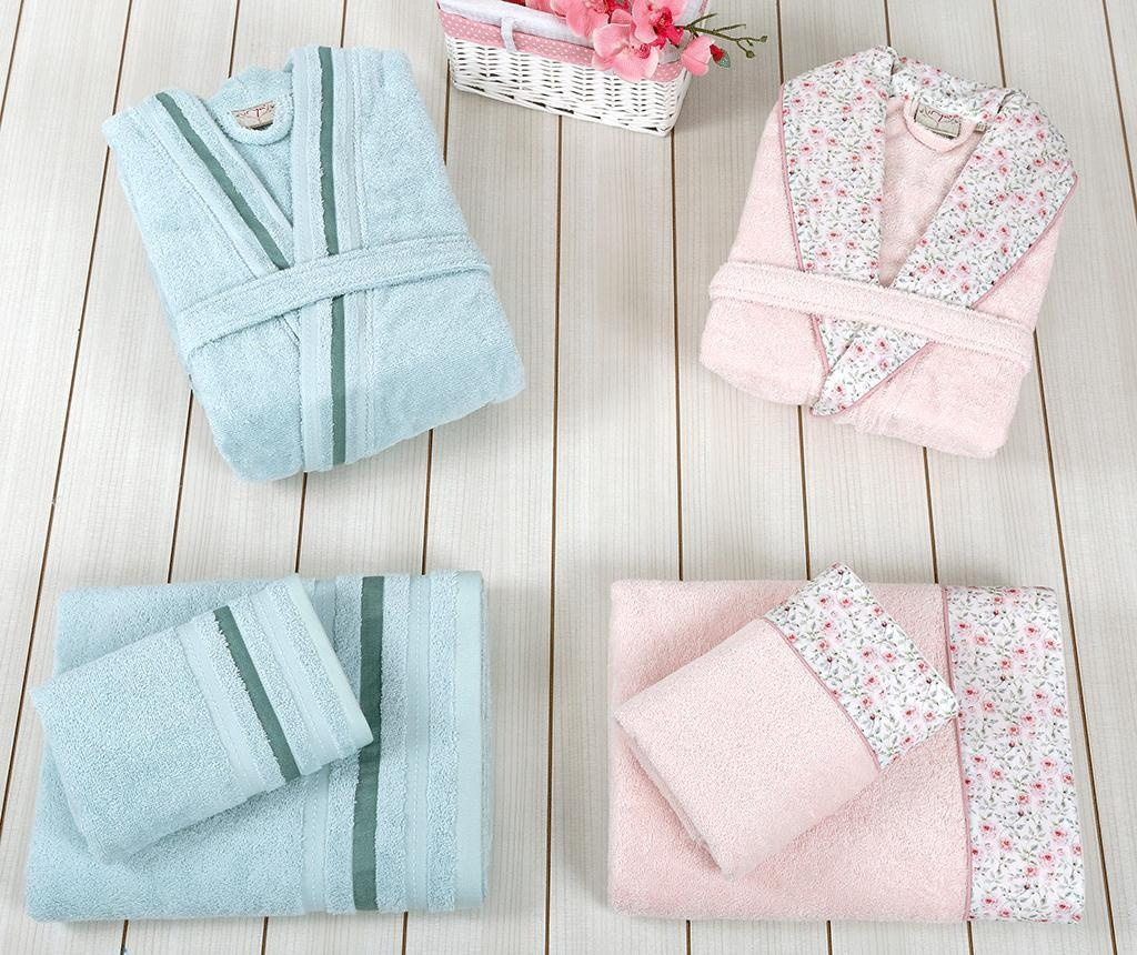 Set textile pentru baie 6 piese Rosalinda Family
