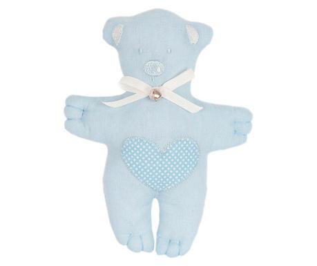 Teddybear Heart Blue Plüss Játék