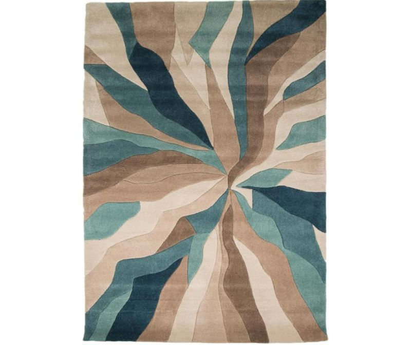 Preproga Splinter Teal 160x220 cm