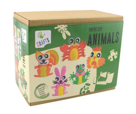 Kreativni set Paper Cup Animals