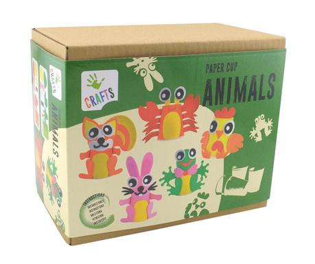Zestaw do kreowania Paper Cup Animals