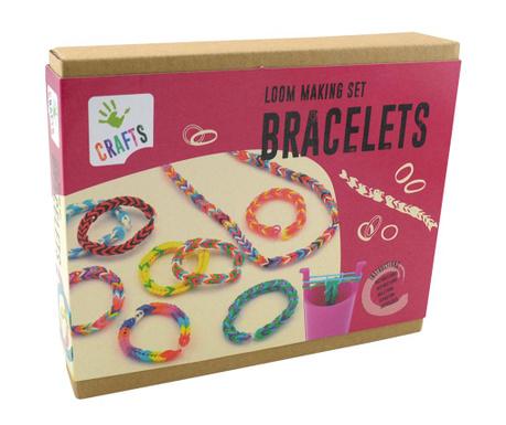 Zestaw do kreowania biżuterii 350 elementów Loom Bracelet