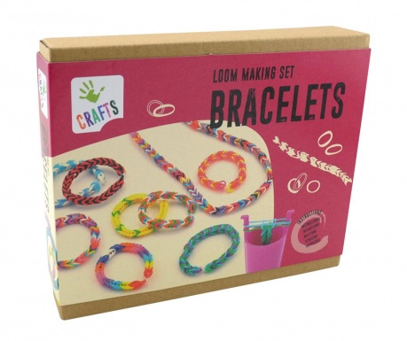 Set de creatie bijuterii 350 piese Loom Bracelet
