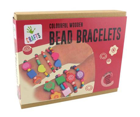 Zestaw do kreowania biżuterii 286 elementów Colorful Bracelets