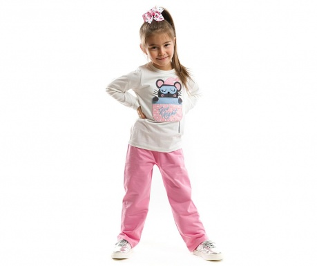 Set bluza si pantaloni Mouse in Pocket