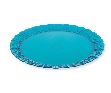 Augustin Blue Szervírozó tál