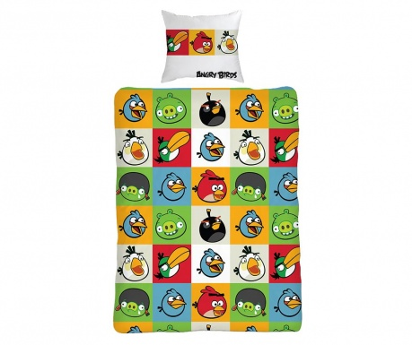 Komplet pościeli Single Ranforce Extra Angry Birds All