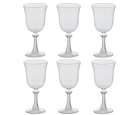 Сервиз 6 чаши за вино Borosilicate 200 мл