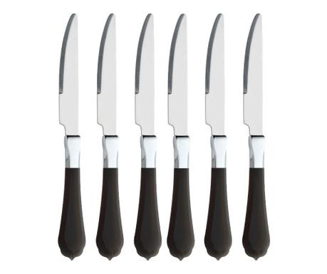 Комплект 6 ножа Romantic Black
