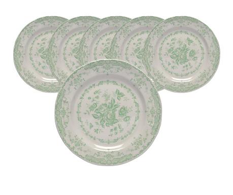 Сервиз 6  плитки чинии Roccoco Green