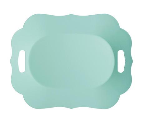 Поднос за сервиране Romantic Tuquoise