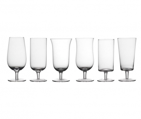 Set 6 čaša za pivo Light Clear 400 ml