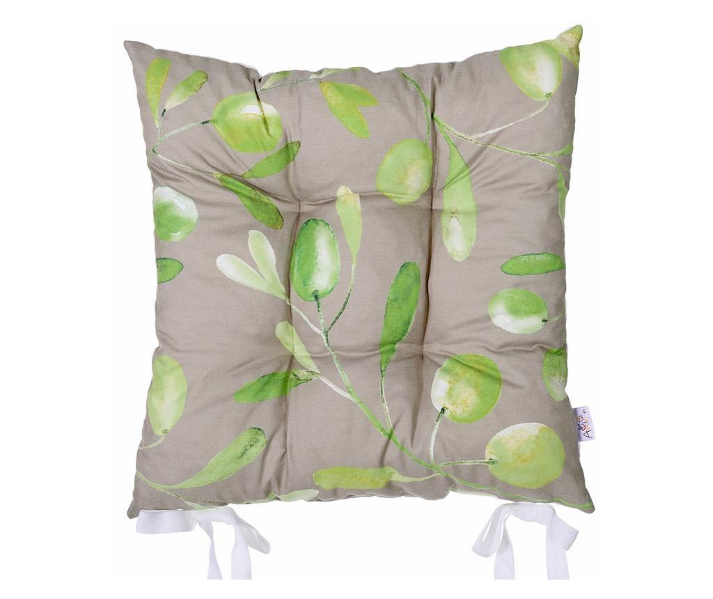 Olive Garden Grey Ülőpárna 37x37 cm