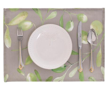 Light Olive Garden 2 db Tányéralátét 33x45 cm