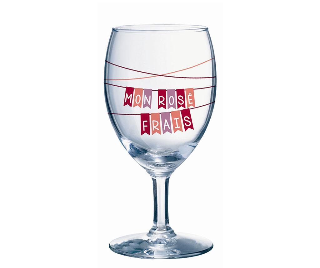 Mon Rose 6 darab Talpas pohár 240 ml