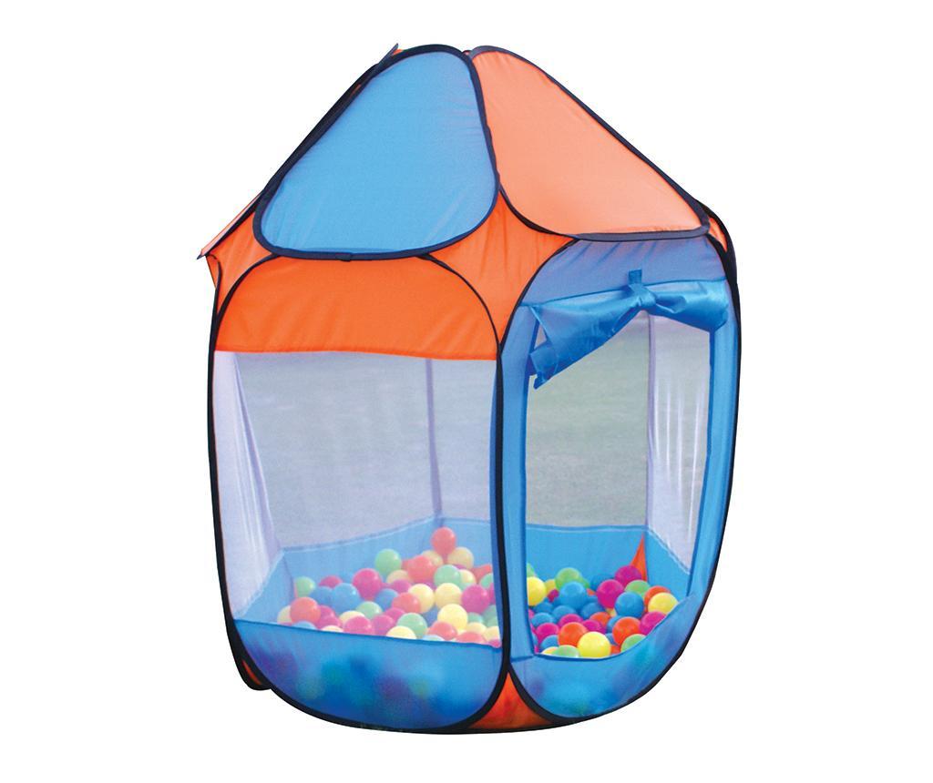 Igralni šotor z 250 žogicami Nate Blue Orange