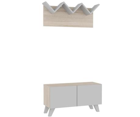 Комплект закачалка и шкаф за обувки Martin Duo