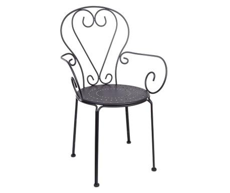 Krzesło zewnętrzne Etienne Grey