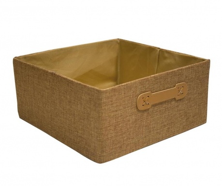 Storage box Rab Half Cube Brown