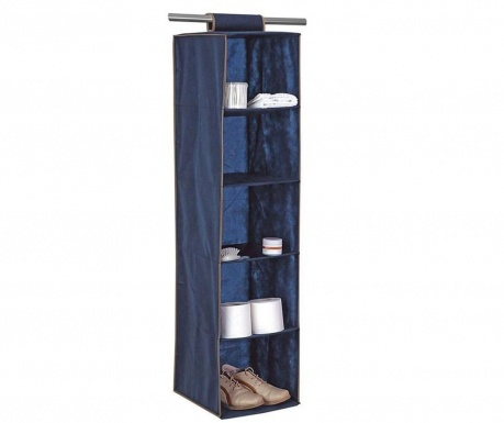 Wardrobe organizer Roll Blue Star