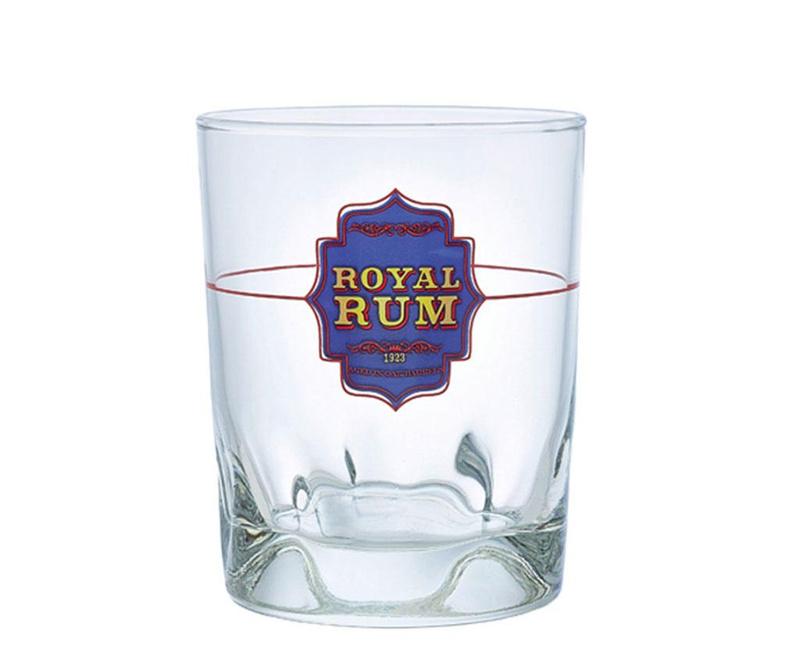 Set 6 kozarcev Duke Royal Rum 240 ml