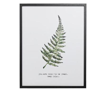 Картина Leaf 45x57 см