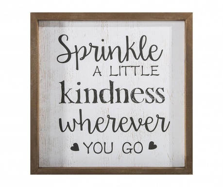 Картина Sprinkle Kindness 32x32 см
